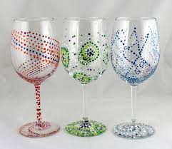 wine glass painting workshop adirondack coast wine trail