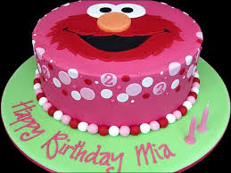 birthday cake red color perfecting kids birthday cake design with