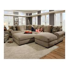 microfiber sectional with ottoman 3 piece sectional sofa and ottoman in bacarat taupe nebraska