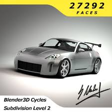 nissan 350z drawing nissan 350z sport racing edition 3d model cgstudio