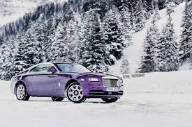 purple rolls royce gallery purple rolls royce wraith in the swiss alps gtspirit