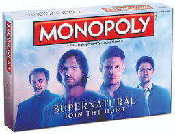 monopoly supernatural collector u0027s edition monopoly usaopoly