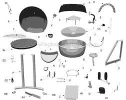 Patio Bistro Grill Patio Caddie Electric Grill Parts 8052