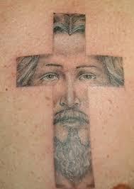awesome jesus cross tattoo design tattoos book