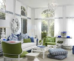 Blue Living Room Ideas White And Blue Living Room View In Gallery G Design Inspiration