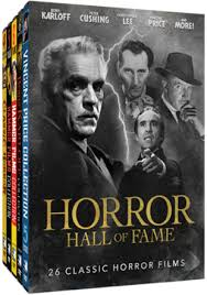 a look at the mill creek horror hall of fame 26 movie collection