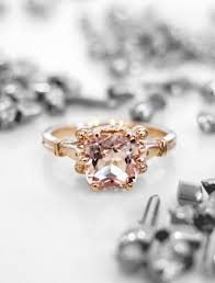 engagement rings nyc wren vintage inspired morganite engagement ring in gold