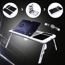 adjustable movable laptop table portable laptop desk ebay