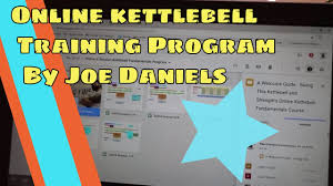 learn to use kettlebells at home online kettlebell training