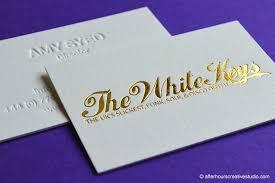 Business Cards Foil Colorplan Business Cards Foil Stamping U0026 Letterpress