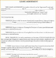 house rental agreement basic house rental agreement