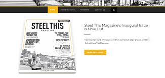 web design case study steel this magazine kelli koladish design