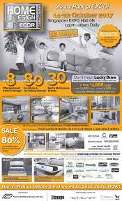 home design expo 2017 14 22 oct 2017 home design decor furnishing fair at singapore