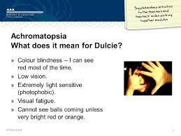 Time Blindness Dulcie U0027s Days Achromatopsia What Does It Mean For Dulcie Colour