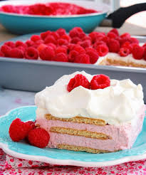 raspberry cheesecake icebox cake pots and pans