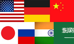 List Of French Speaking Countries In The World - the seven great powers the american interest