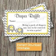 yellow and gray baby shower yellow grey baby shower raffle by bumpandbeyonddesigns on
