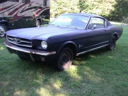 mustang project cars for sale 1965 ford mustang fastback project car car shopper