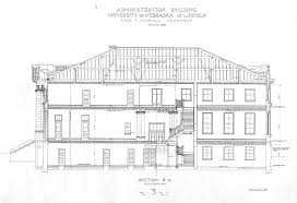 building plans unl historic buildings administration building building plans