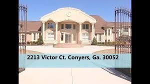 luxury homes alpharetta ga conyers ga homes for sale youtube