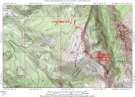 Colorado Elevation Map by New York Mountain Climbing Hiking U0026 Mountaineering Summitpost