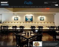design battle new york restaurant websites vs templatemonster u0027s