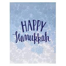 hanukkah cards blue snowflake hanukkah card hanukkah cards smudge ink