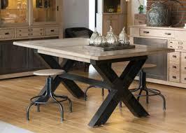 x leg dining table industrial metal x leg dining table from tannahill furniture ltd