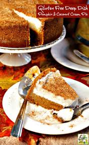 Crustless Pumpkin Pie by Gluten Free Deep Dish Pumpkin U0026 Coconut Cream Pie