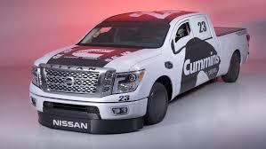 nissan truck diesel 2015 sema show nissan titan xd diesel land speed truck new live