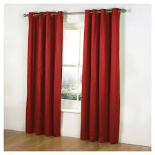 plain red lined curtains nrtradiant com