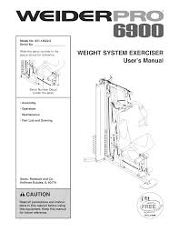 weider home gyms pro 6900 pdf user u0027s manual free download u0026 preview