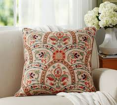 harland print pillow cover pottery barn