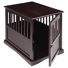 amazon com casual home 600 44 pet crate end table 24 inch