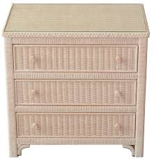 Chest Of Drawers With Wicker Drawers Lexington