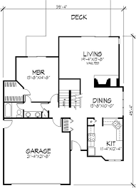 modern home floorplans wondrous 15 1 story house plans designs 17 best images about