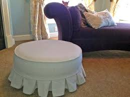 Stretch Ottoman Slipcover Ottoman Slipcover Chair And Ottoman Covers Slipcovers Sure