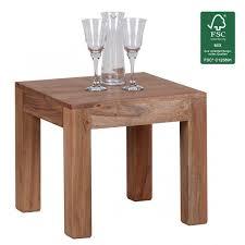 Wohnzimmer Design App Finebuy Couchtisch Massiv Holz Akazie 45 Cm Breit Wohnzimmer Tisch