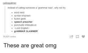 Funny Grammar Memes - 25 best memes about english funny nerd omg and tumblr