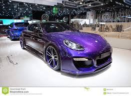 techart porsche panamera techart grand gt based on porsche panamera turbo editorial stock