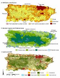 Puerto Rico Island Map by Maps Of Puerto Rico Showing A The 900 Barrios Classified By