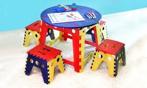 childrens folding table and chair set childrens folding table and chairs set collapsible table and chairs