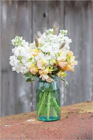 jar flower arrangements water farm rustic elegance inspiration shoot floral