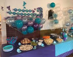 the sea baby shower decorations mermaid baby shower decorations home design ideas