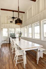 sunroom dining room creative light fixtures out of old farm implements vintage