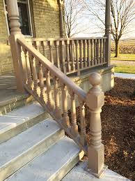 Phil Banister Finished Photo Of A Newel Post That We Turned Along With Spindles