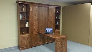 Hidden Desk Bed by Craftsman Murphy Bed W Hidden Desk Custom By Chris Davis
