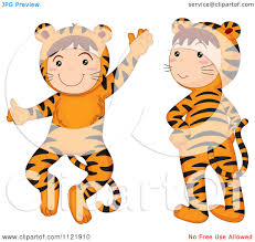 royalty free rf clipart of halloween costumes illustrations
