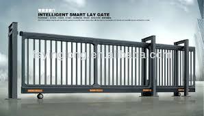 Patio Door Gate Sliding Driveway Gates Sliding Gates Designs For Driveways Sliding