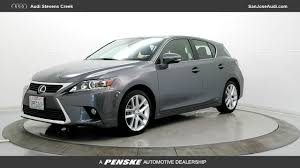 lexus of stevens creek sales used 2016 lexus ct 200h for sale in san jose ca serving